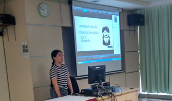 Ch'ng Lay Kee (ETP) shares her screencast.