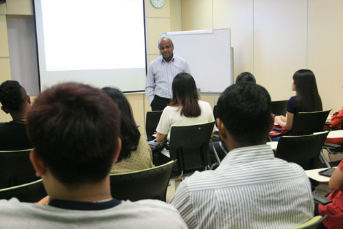 Prakash shares about the business degree programmes.