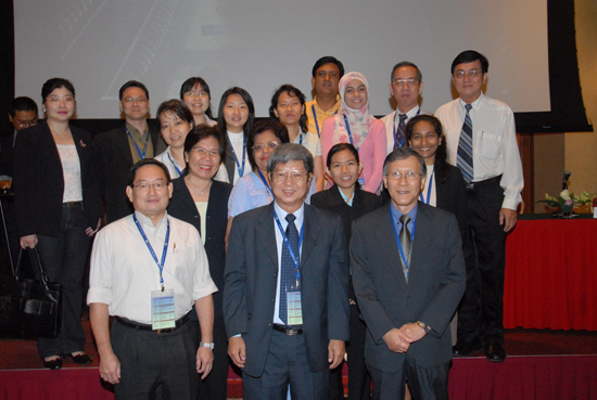 WOU's representatives at the 21st Annual Conference of the Asian Association of Open Universities (AAOU).
