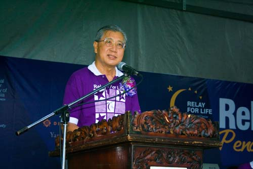 Datuk Sharom says more should be done for charity.