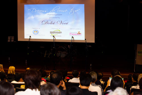 'Dreams Do Come True' charity concert in aid of Seri Cahaya.
