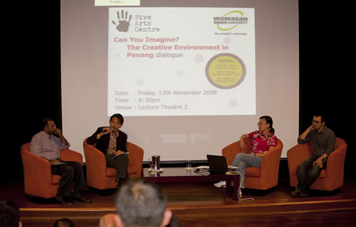 From left: Himanshu Bhatt, Chee Sek Thim, Sue Ching You and Johan Othman.