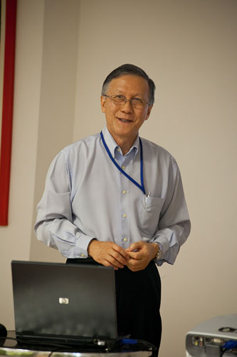 Prof Ho shares his expertise on tsunami early warning.