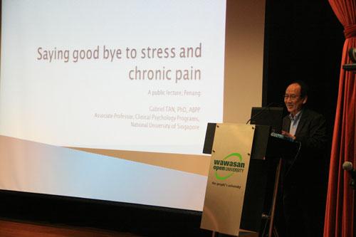 Dr Tan offers a deeper understanding of stress.