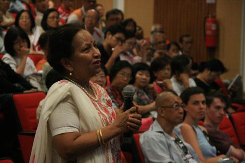 WOU Deputy Vice Chancellor (Academic-ODL) Prof Madhulika Kaushik shares her breathing regimen.