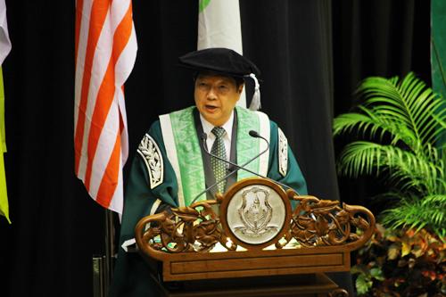 WOU Vice Chancellor Prof Dr Wong Tat Meng.