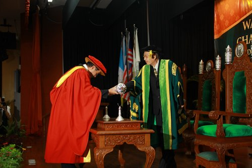 Installation of Tun Dr Lim Keng Yaik as Chancellor.
