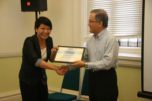 Ching happy with the recognition to IPRC.