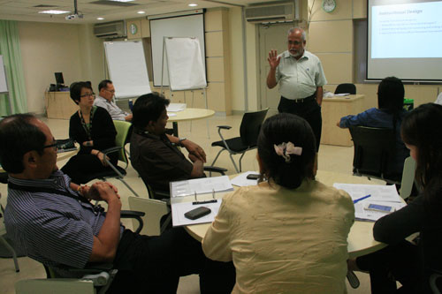 Prof Mohandas Menon elaborates on Instructional Design.