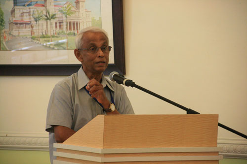 Prof Dhanarajan shares about the Centre for Dialogue.