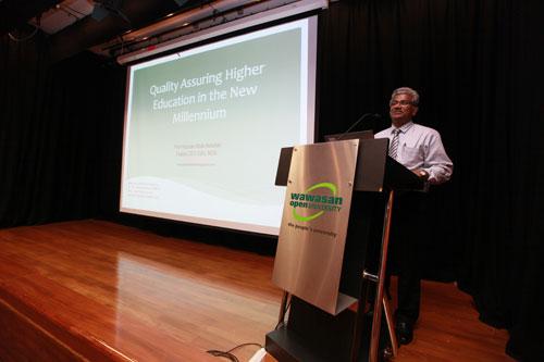 Prof Hazman elaborates on the role of MQA.