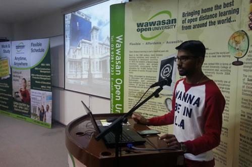 Sankar shares his student experience at Kuala Lumpur Regional Centre.