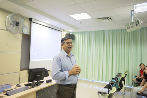 Dr Nagarajan offers some tips on public speaking.
