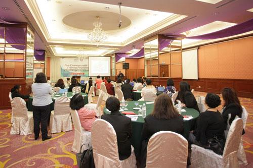 Participants attending the workshop.