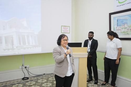 Prof Zoraini stresses on the importance of having good communication skills.