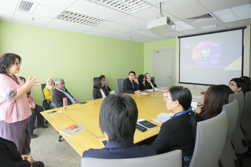 Grace Lau talks about the University.