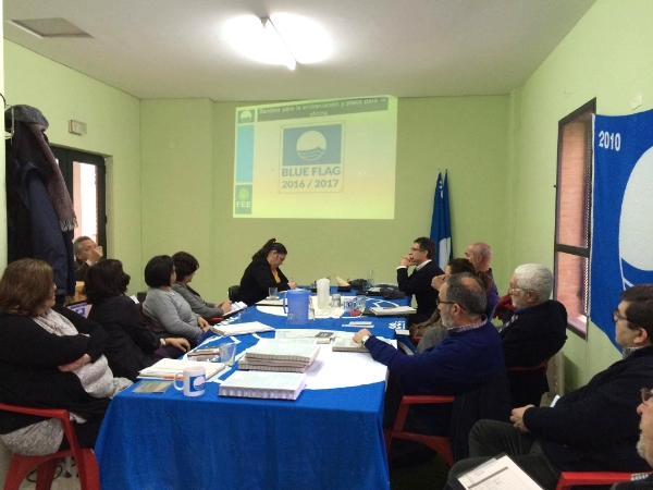 The Spanish National Jury during the evaluation of the first boating tourism operators