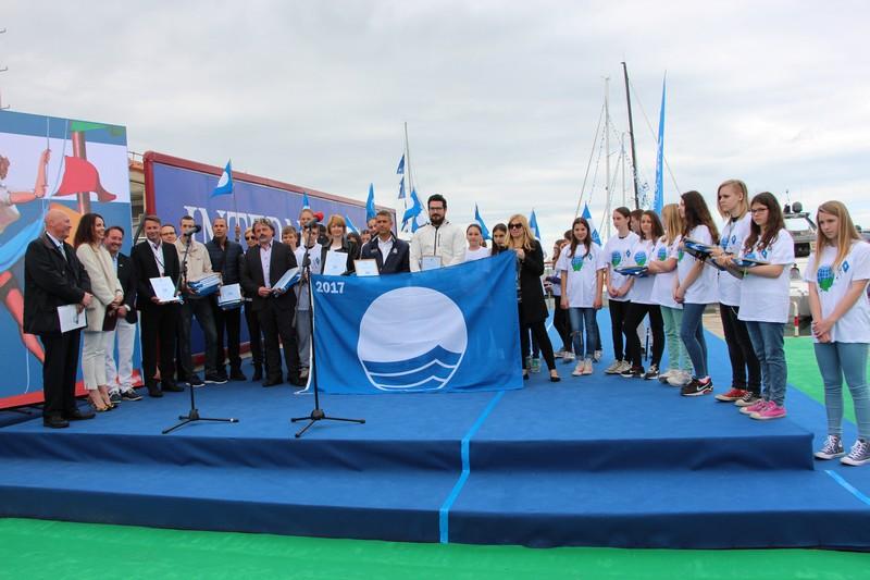 23rd Slovenian Blue Flag Ceremony, Internautica Boat Show 2017