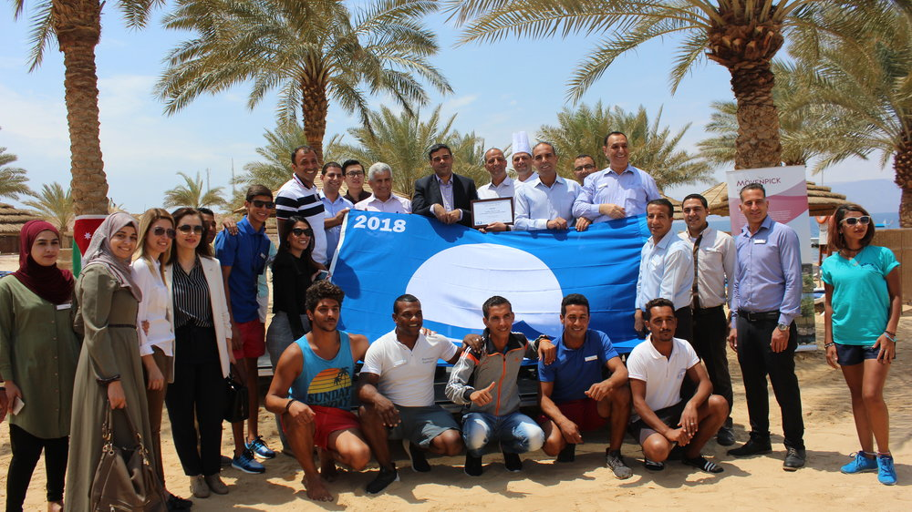Mövenpick Resort & Spa Tala Bay Blue Flag beach awarding ceremony