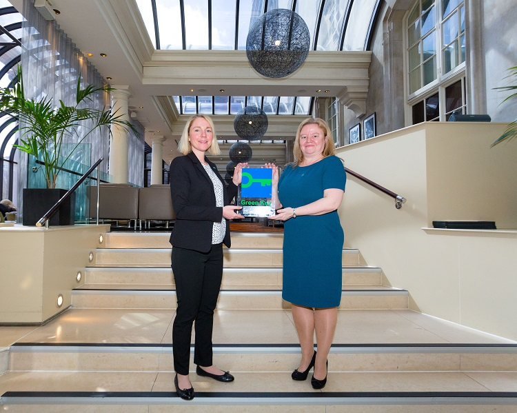 veline Noort (General Manager, Le Meridien Piccadilly) and Lynsey Atherton (Green Key National Operator, Keep Britain Tidy)