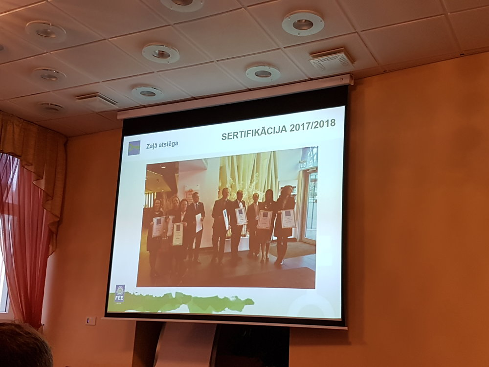 Green Key seminar in Latvia