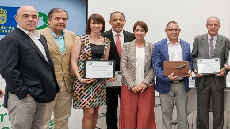 Radisson Blu Resort Gran Canaria winning a responsible business award