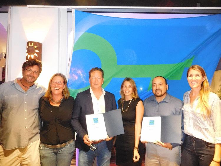 Green Key award ceremony in Sint Maarten
