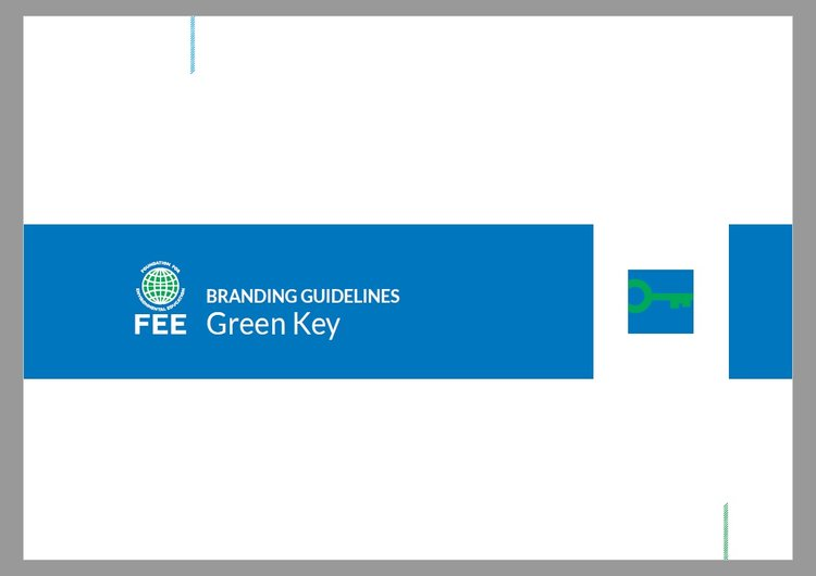 Green Key Branding Guidelines explains the correct use of Green Key logos and standardised material