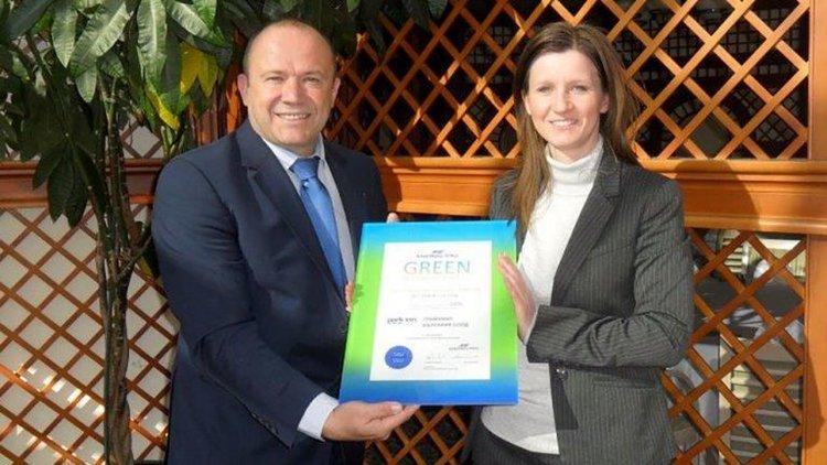 Park Inn by Radisson Hotel Sofia is using 100% green energy