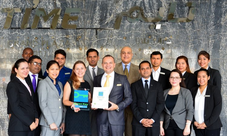 Time Hotels Management announcing Green key status for its hotels