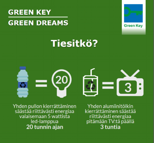 Sokos Hotel Ilves' new year's resolution - 100% recycling of waste!