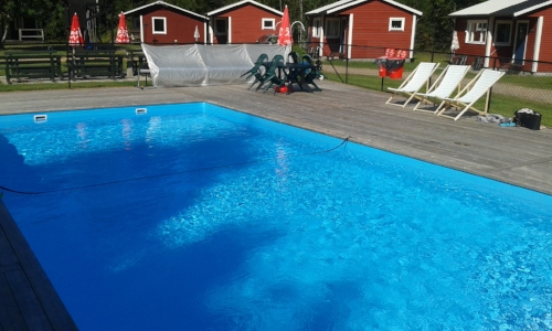 Chemical-Free Pool Cleaning at Camping 45 in Sweden