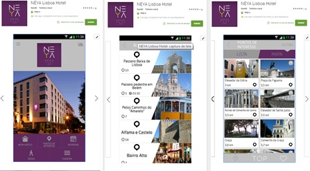 Explore Lisbon with NEYA Lisboa Hotel's new app