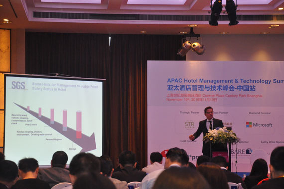 SGS represts Green Key at APAC Hotel Management summit in Shanghai