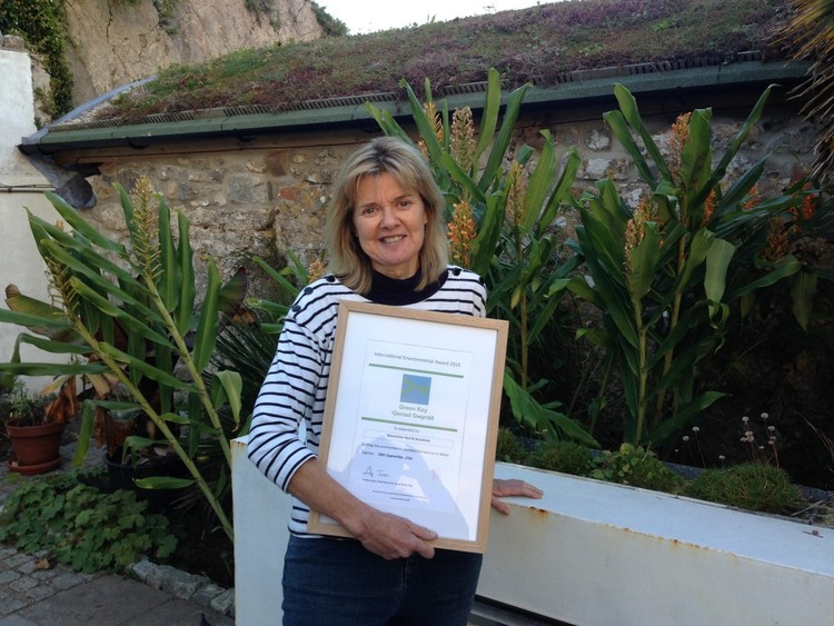Top bed and breakfast on Pembrokeshire's iconic coast in Wales gains Green Key accreditation