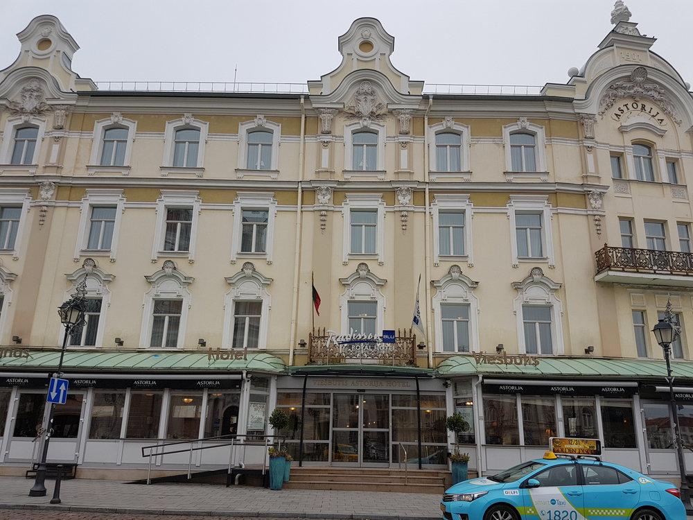 Radisson Blu Hotel Astorija, Vilnius, Lithuania