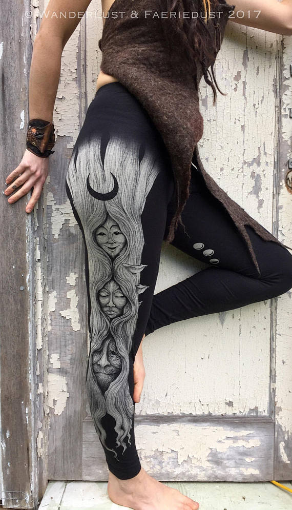 Generation of Goddesses Leggings