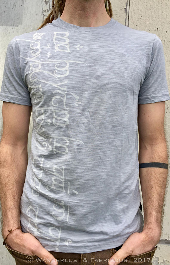 Elvish Mens Bamboo Tee
