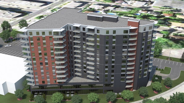 cote ouest - boulevard viau - groupe magri - condos - faubourg jarry