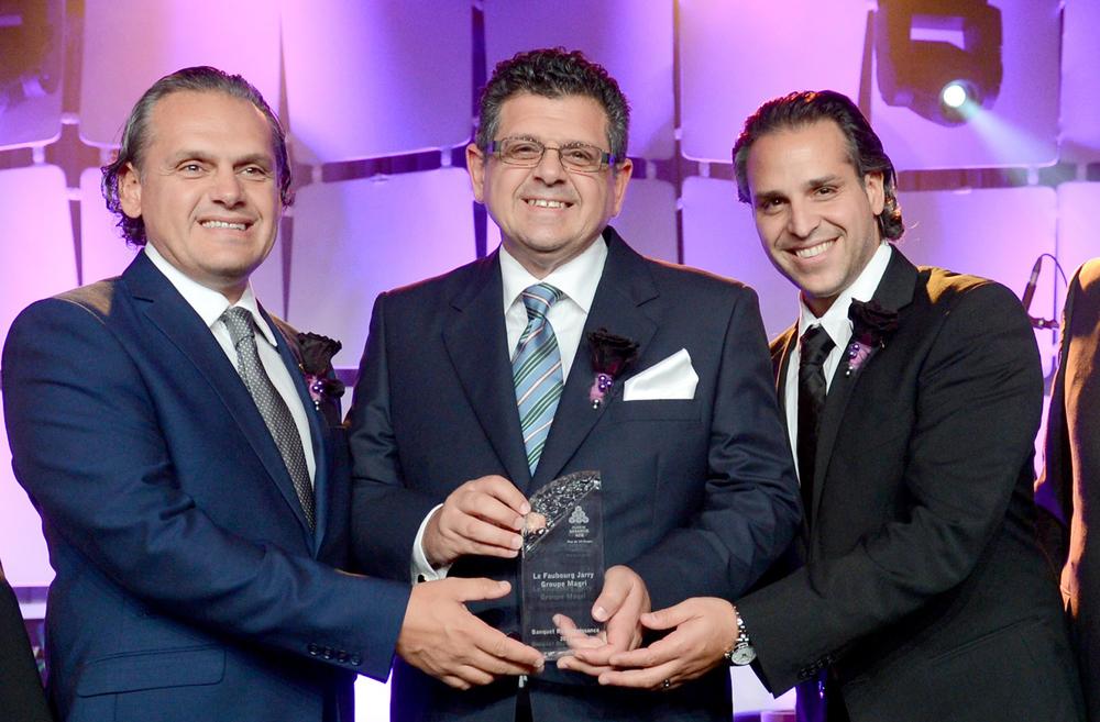 Constructeur de l'annee - qualite habitation - groupe magri - gala habitation gagnant 2012