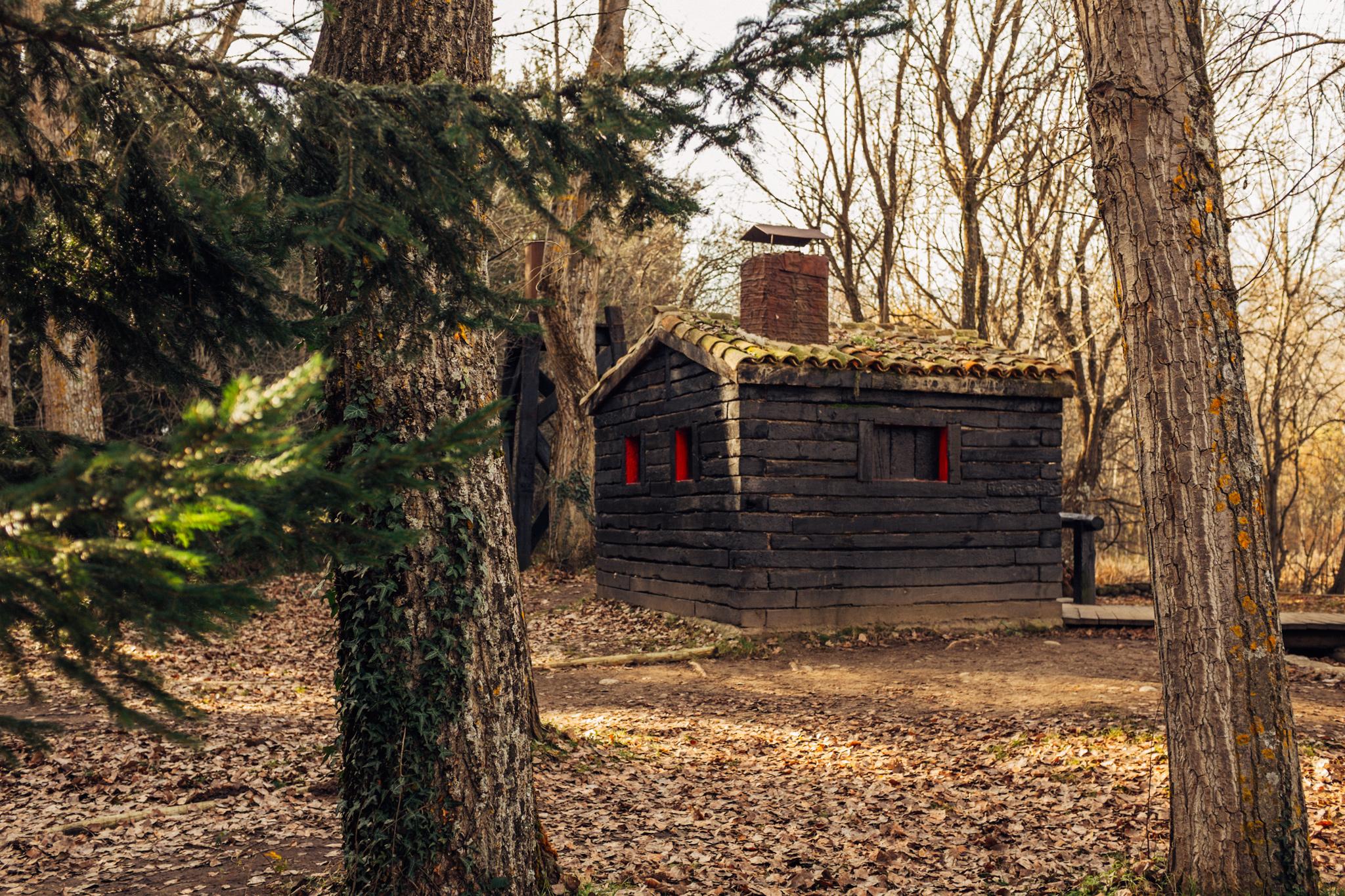 El bosque de finlandia adri n cano franco - Cabanas de madera los pinos ...