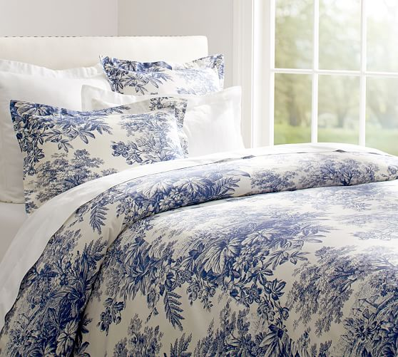 Bedding by Pottery Barn