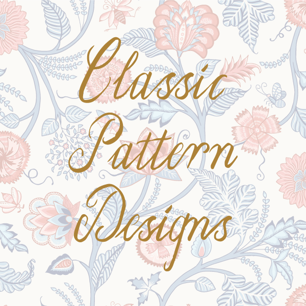 A series of courses - for pattern designers who wants to learn about some of the most popular pattern styles in history and how to make them