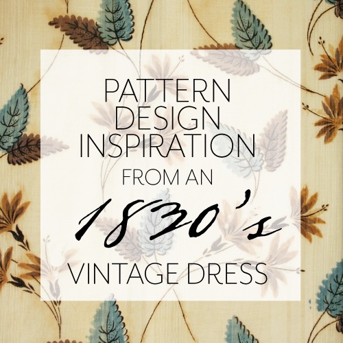 Pattern inspiration:Indian floral -