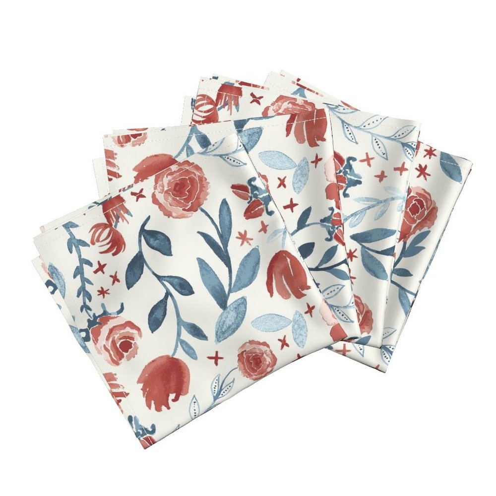 Simply lavish dinner napkins - To the Roostery shop >>
