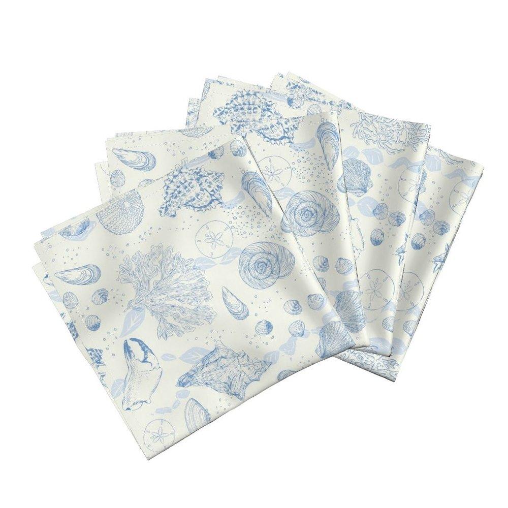 ocena Sea Toiledinner napkins - To the Roostery shop >>