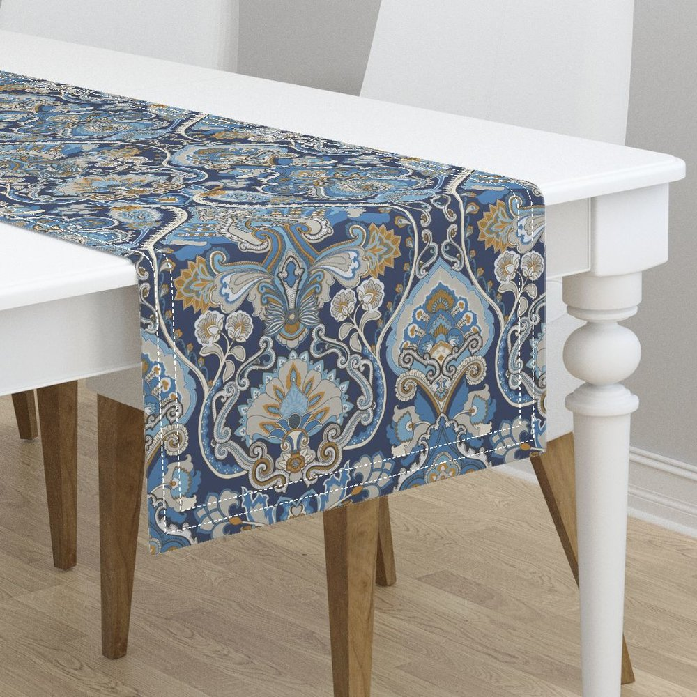 adrian paisley atlantictable runner - To the Roostery shop >>