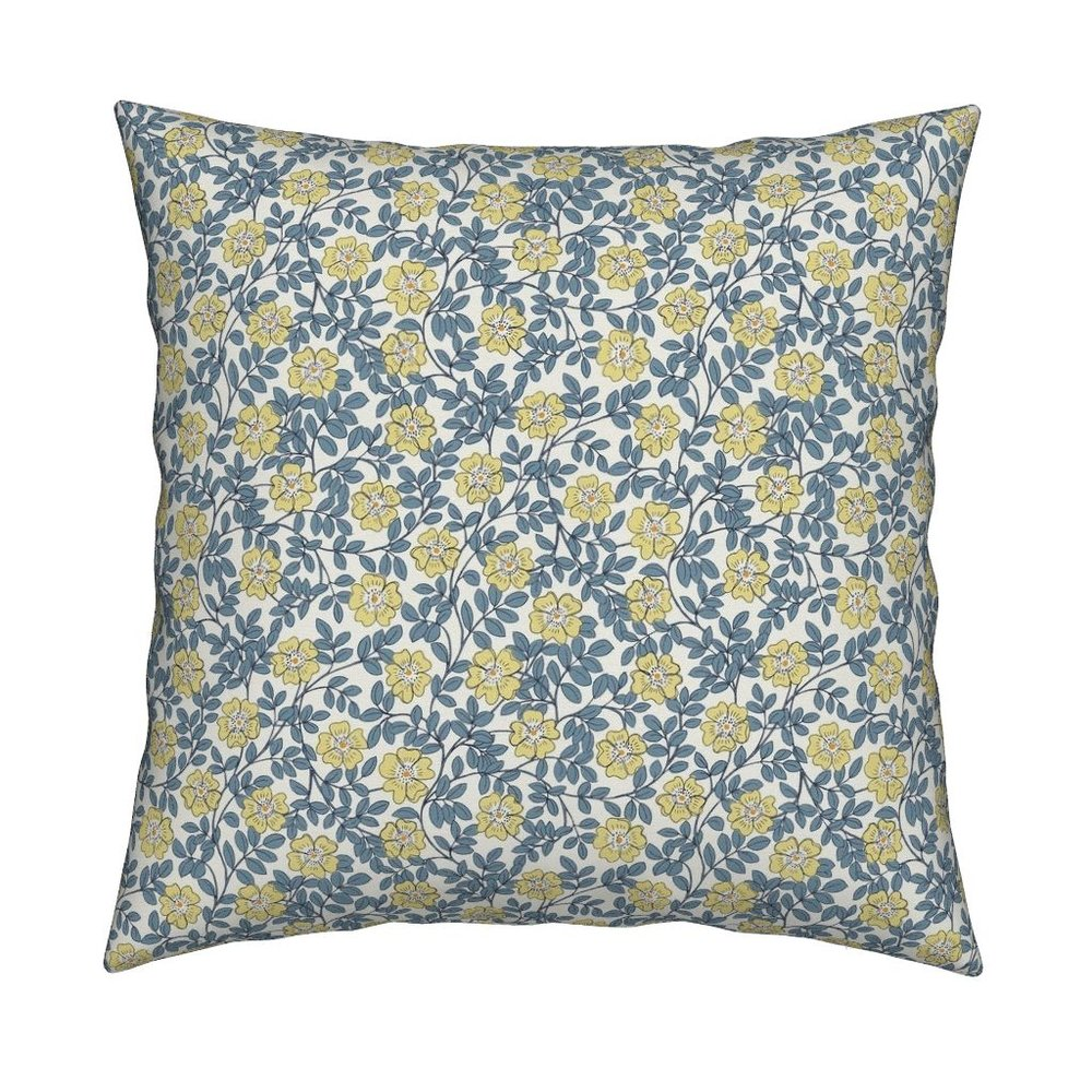 NEW! evening wild roses pillow - Order on Roostery >>