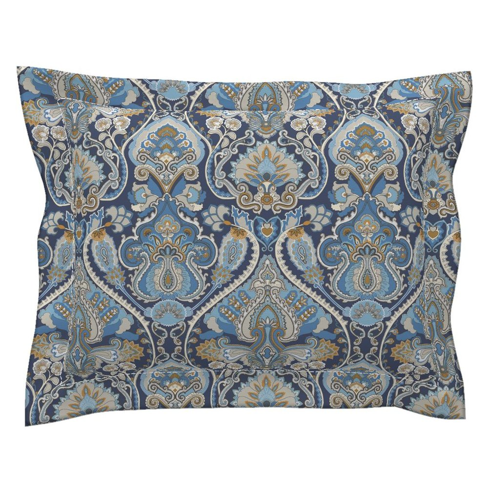 adrian paisley atlantic pillow sham - To the Roostery shop >>