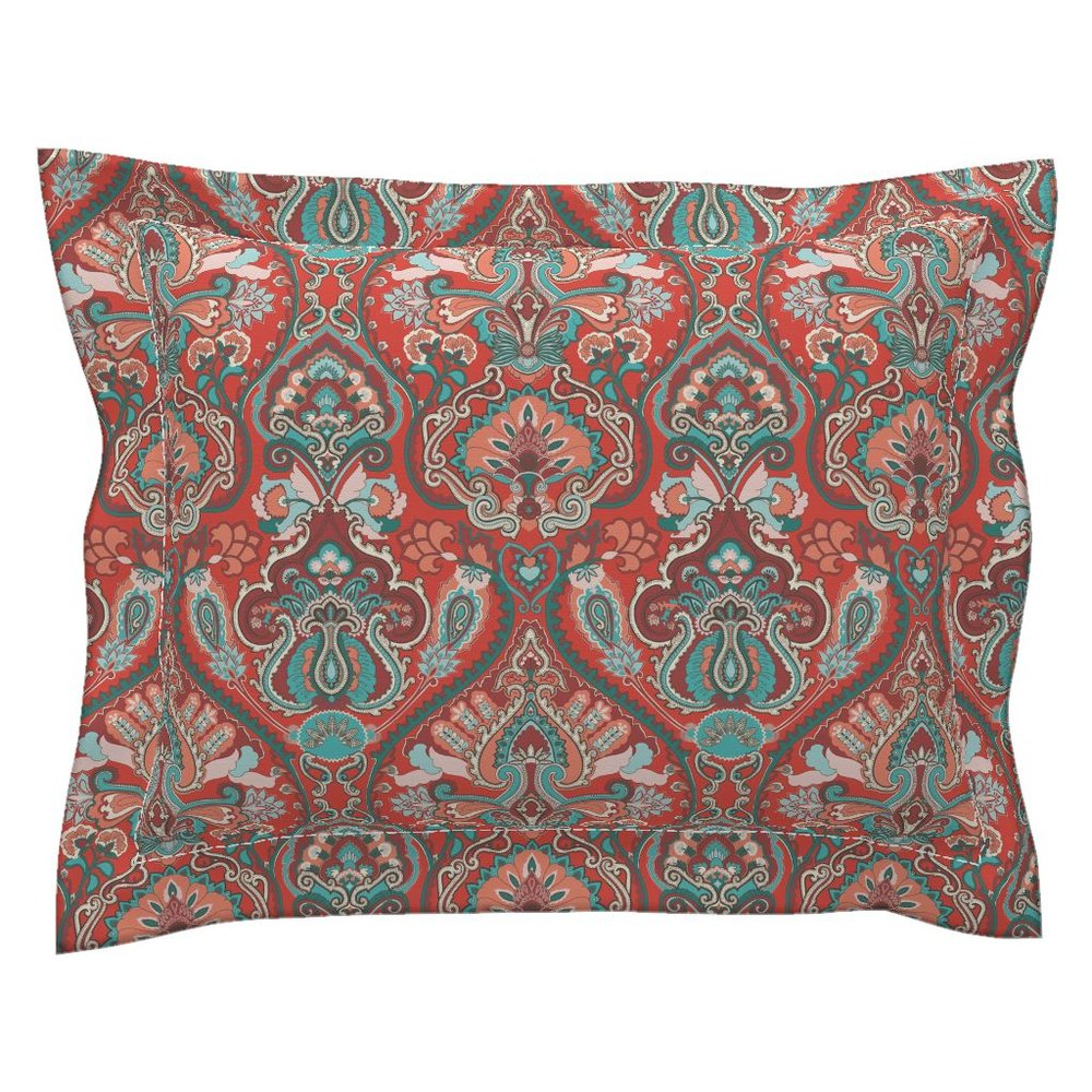 adrian paisley pacific pillow sham - To the Roostery shop >>